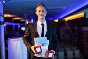 Takács Gyula a MÉD 2017 Terv kategóriájának győztes előadója. A fotót Turós Balázs készítette.